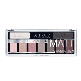 Catrice The Modern Matt Eyeshadow Palete Палетка теней для век