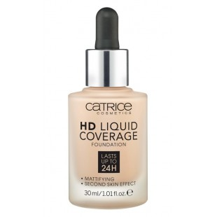 Catrice HD Liquid Coverage Foundation Тональная основа
